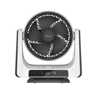 美的FGD20XBR电风扇空气对流循环扇/遥控定时电风扇/台式风扇/宿舍学生风扇家用安静摇头涡轮扇 FGD20XBR