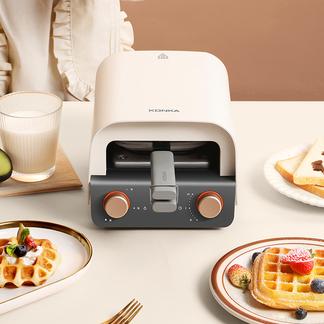 KONKA康佳  KZG-PS2意式早餐机  标配:华夫饼盘、三明治盘  陶瓷油涂层