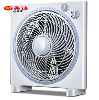 先  锋(Singfun)电风扇KYT30-17A台式转页扇家用迷你学生宿舍静音台扇 白色