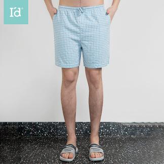 夏季薄款休闲短裤透气宽松家居裤沙滩裤男式短裤6215662001