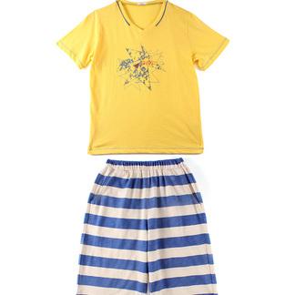 儿童鸡尾酒印花短袖短裤套装9122300521