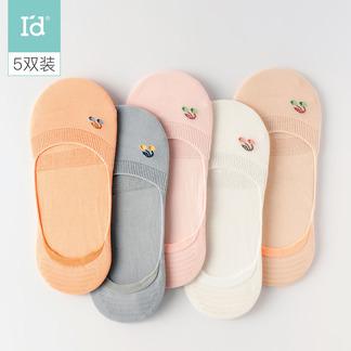 女式镂空假隐形袜5双装6215900011-811-911