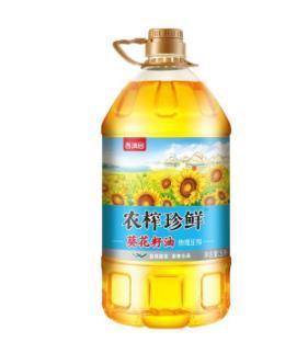 香满园农榨珍鲜葵花籽油5L