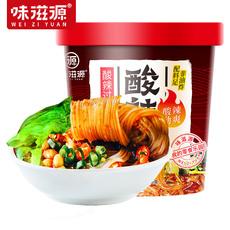味滋源酸辣粉装酸辣味红薯细粉丝速食小吃105g×3桶