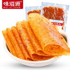 味滋源网红老式大辣片甜辣味手撕休闲零食200g×2袋
