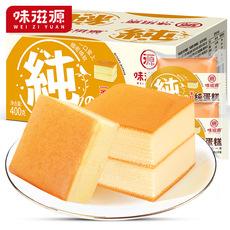 味滋源纯蛋糕面包整箱400g早餐速食网红零食小吃