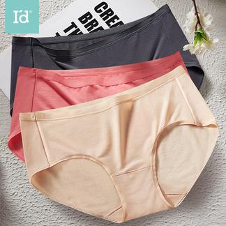女式莫代尔柔肤冰丝中腰内裤2条装6187120081