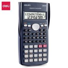 得力D82MS函数科学计算器D82MS*1台【限中建三局工程总承包公司采购,其他订单不发货】