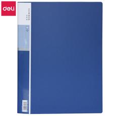 得力A4/40页5004资料册(蓝色)A4/40页*1个【限中建三局工程总承包公司采购,其他订单不发货】