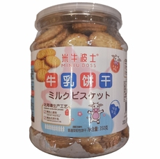 MINIUBOSS牛乳饼干350g*1盒【限中建三局工程总承包公司采购,其他订单不发货】