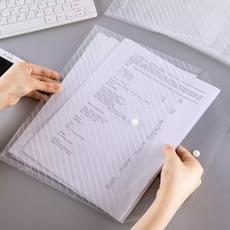 广博A6399白色A4透明按扣文件袋20个*1包【限中建三局工程总承包公司采购,其他订单不发货】