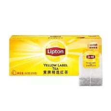 立顿黄牌红茶S25 50g*1盒【限中建三局工程总承包公司采购,其他订单不发货】