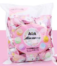 AOA马卡龙草莓味夹心饼干358g*1包【限中建三局工程总承包公司采购,其他订单不发货】