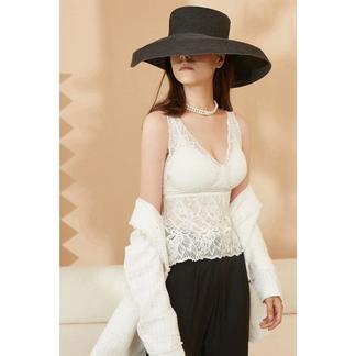 绯素2021新品软毛雪尼尔背心深V美背设计可内搭女士内衣文胸背心-027D12B1534