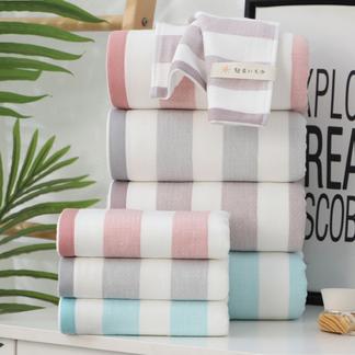 【舒适全棉款】VIPLIFE浴巾 毛巾 全棉清风毛巾浴巾