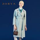 【预售,9.17自提】JORYA卓雅 秋季系带毛呢外套 收腰中长款K1600302
